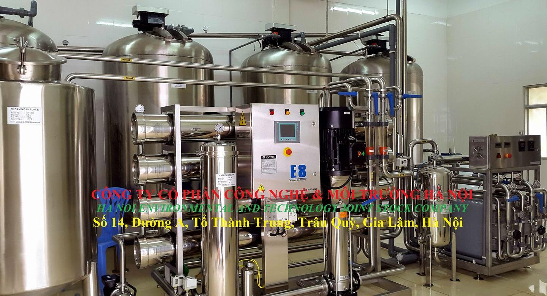 Hệ thống RO - EDI - Công ty Cổ Phẩn Dược Vĩnh Phúc
