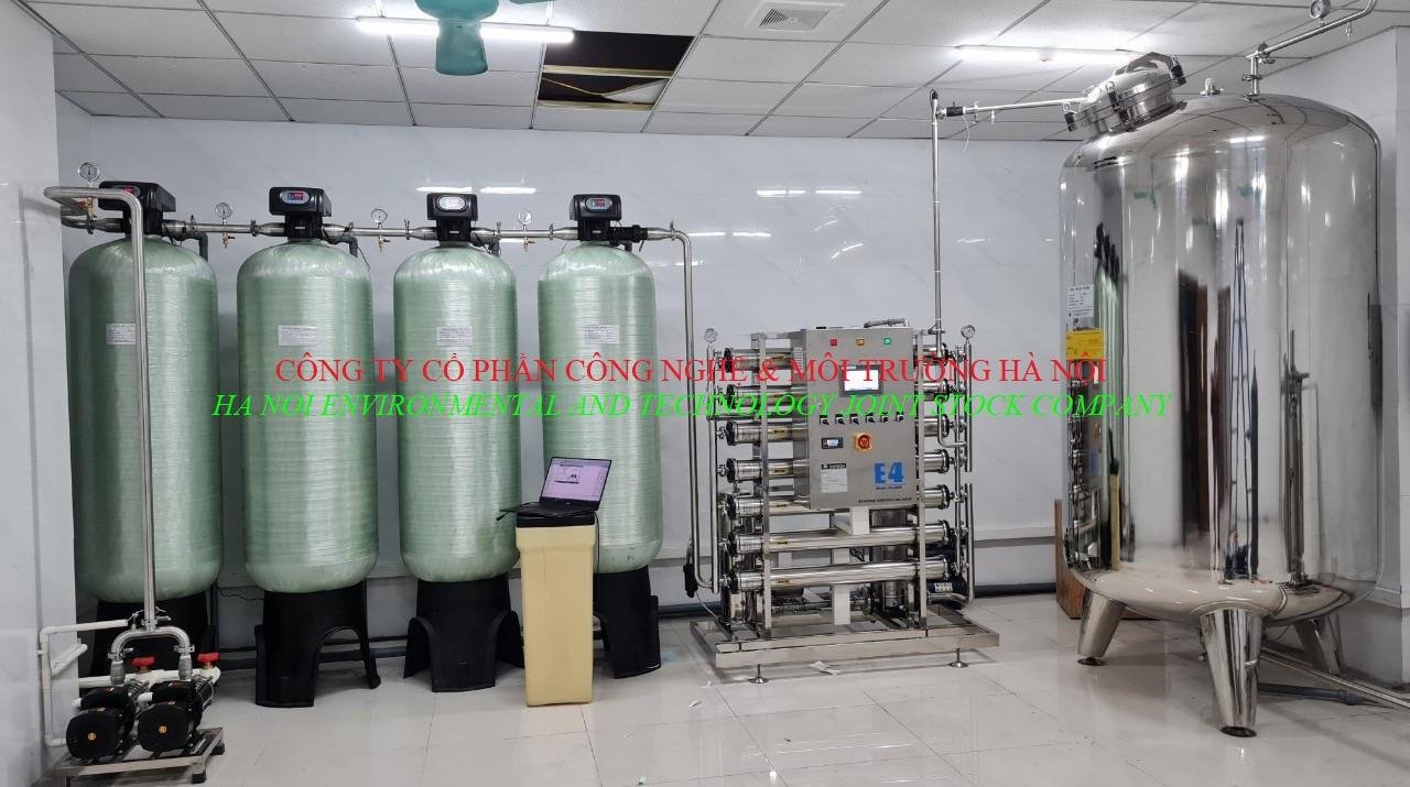 Hệ thống nước RO - Chạy thận nhân tạo - Bệnh Viện Đa Khoa Hùng Vương