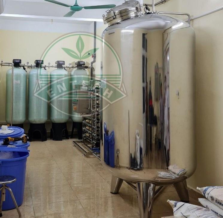 Hệ thống nước RO - Chạy thận nhân tạo - Trung tâm Y tế Huyện Vụ Bản